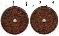 Изображение Монеты Великобритания Родезия 1 пенни 1944 Бронза XF