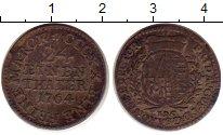 Изображение Монеты Германия Саксония 1/24 талера 1764 Серебро XF-