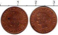Изображение Монеты Франция 1 сантим 1884 Бронза XF