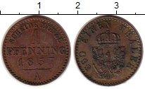 Изображение Монеты Германия Пруссия 1 пфенниг 1857 Медь XF