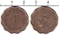 Изображение Монеты Кипр 1 пиастр 1938 Медно-никель XF