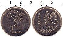 Изображение Монеты Бразилия 1 крузейро 1972 Медно-никель UNC-