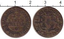 Изображение Монеты Германия Саксония 1/24 талера 1763 Серебро VF