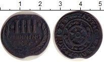 Изображение Монеты Оснабрук 4 пфеннига 1759 Медь VF