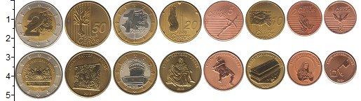 Набор монет Ватикан Ватикан 2013 2013 UNC