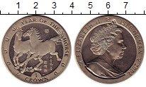 Изображение Монеты Остров Мэн 1 крона 2002 Медно-никель UNC- Год лошади.