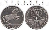 Изображение Монеты Босния и Герцеговина 1 суверен 1994 Медно-никель UNC-