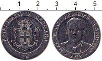 Изображение Монеты Италия Себорга 1 луиджино 2012 Медно-никель UNC