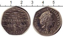 Изображение Монеты Великобритания 50 пенсов 2015 Медно-никель UNC
