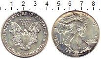 Изображение Монеты США 1 доллар 1987 Серебро UNC