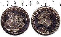 Изображение Монеты Остров Мэн 1 крона 2015 Медно-никель UNC-