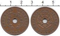 Изображение Монеты Великобритания Родезия 1 пенни 1942 Бронза XF
