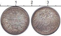 Изображение Монеты Германия 1 марка 1914 Серебро XF G