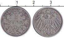 Изображение Монеты Германия 1 марка 1892 Серебро VF