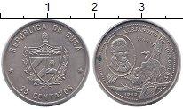 Изображение Монеты Куба 25 сентаво 1989 Медно-никель UNC-