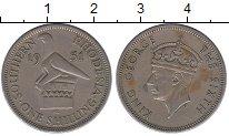 Изображение Монеты Великобритания Родезия 1 шиллинг 1951 Медно-никель XF