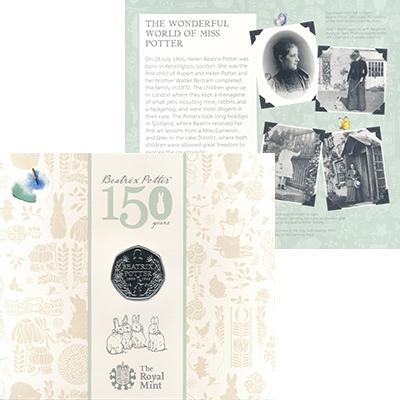 Изображение Подарочные монеты Великобритания 50 пенсов 2016 Медно-никель BUNC