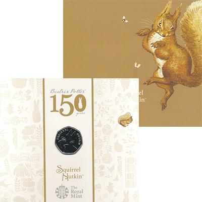Изображение Подарочные монеты Великобритания 50 пенсов 2016 Медно-никель BUNC Монета из серии 150