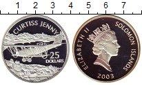 Монета Соломоновы острова 25 долларов Серебро 2003 Proof фото