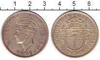 Изображение Монеты Родезия 1/2 кроны 1941 Серебро XF Георг VI