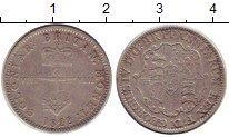 Изображение Монеты Британская Индия 1/8 доллара 1822 Серебро XF Георг IV