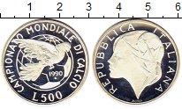 Изображение Монеты Италия 500 лир 1990 Медно-никель Proof- Чемпионат мира по фу