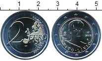 Изображение Мелочь Италия 2 евро 2017 Биметалл UNC 2000 лет со дня смер