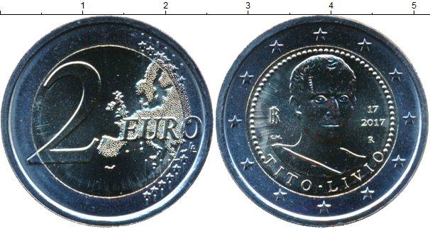 Картинка Мелочь Италия 2 евро Биметалл 2017