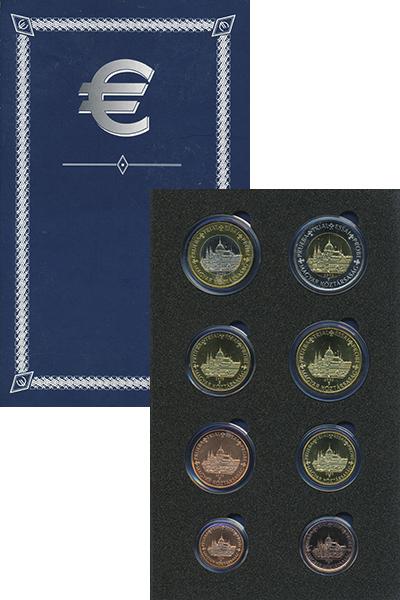Изображение Подарочные монеты Венгрия Европроба 2003 2003  UNC UNUSUAL. В набор вхо