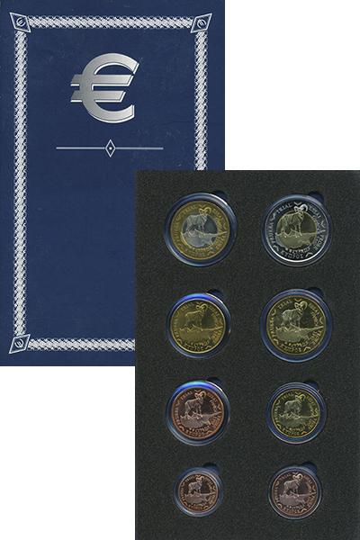 Изображение Подарочные монеты Кипр Европроба 2003 2003  UNC UNUSUAL. В набор вхо