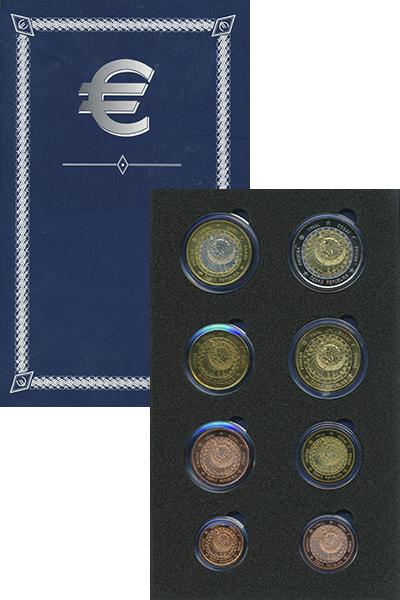 Изображение Подарочные монеты Чехия Европроба 2003 2003  UNC