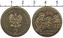 Изображение Мелочь Польша 2 злотых 2010 Латунь UNC-