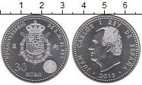 Изображение Монеты Испания 30 евро 2013 Серебро UNC