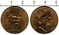 Изображение Монеты Австралия 1 доллар 1996 Латунь UNC-