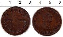 Изображение Монеты Остров Мэн 1 пенни 1830 Медь VF
