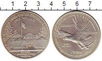 Изображение Монеты США 1 доллар 1994 Серебро UNC