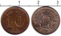 Изображение Монеты Швеция 10 эре 1904 Серебро XF Оскар II