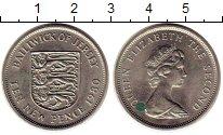 Изображение Монеты Остров Джерси 10 пенсов 1980 Медно-никель XF Елизавета II