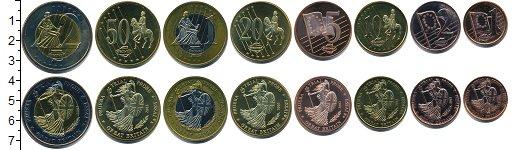 Изображение Наборы монет Великобритания Европроба 2003 2002  UNC