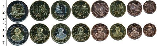 Изображение Наборы монет Мальта Европроба 2003 2003  UNC- UNUSUAL. В набор вхо