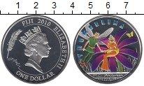 Изображение Монеты Фиджи 1 доллар 2010 Серебро Proof Сказки Андерсона. Дю