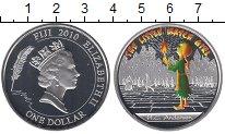 Изображение Монеты Фиджи 1 доллар 2010 Серебро Proof