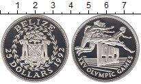 Изображение Монеты Белиз 25 долларов 1992 Серебро Proof