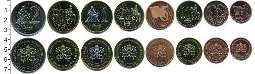 Изображение Наборы монет Ватикан Пробный набор евромонет Ватикана 2004  UNC- В набор входят 8 мон