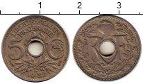 Изображение Монеты Франция 5 сантим 1932 Медно-никель XF