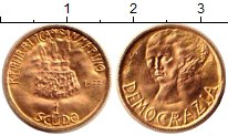 Изображение Монеты Сан-Марино 1 скудо 1977 Золото UNC
