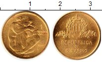 Изображение Монеты Сан-Марино 1 скудо 1981 Золото UNC KM# 128, вес 3 грамм
