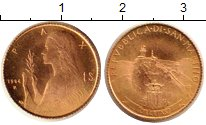 Изображение Монеты Сан-Марино 1 скудо 1984 Золото UNC