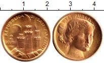 Изображение Монеты Сан-Марино 2 скуди 1976 Золото UNC