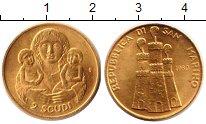 Изображение Монеты Сан-Марино 2 скуди 1980 Золото UNC